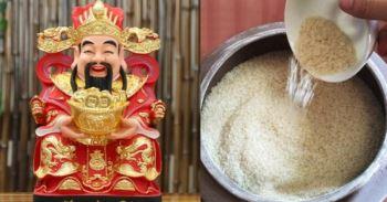 """Gia chủ hãy đặt vật này vào đáy hũ gạo: Thần Tài """"cực ưng"""""""