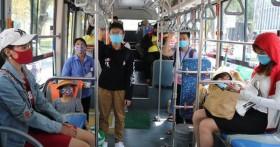 Yêu cầu tất cả hành khách đi trên phương tiện giao thông công cộng phải đeo khẩu trang