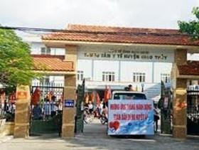 Trung tâm Y tế huyện Giao Thủy: Không ngừng nêu cao tinh thần trách nhiệm