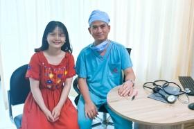 Hành trình tìm lại bước chân của cô giáo trẻ bị dị dạng mạch máu tủy