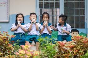 Tỉnh Hậu Giang mở rộng chương trình Sữa học đường