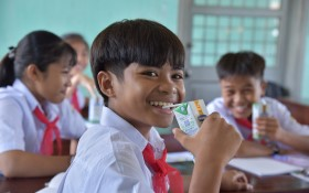 83.400 ly sữa đến với trẻ em có hoàn cảnh khó khăn tỉnh Phú Yên