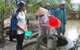 Bộ Y tế hướng dẫn cách xử lý nước sinh hoạt trong mùa mưa lũ