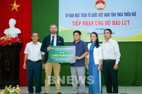 Carlsberg Việt Nam chia sẻ khó khăn với người dân 4 tỉnh miền Trung