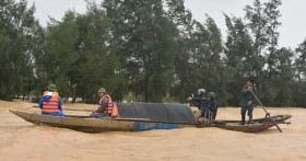 Cảnh báo lũ khẩn cấp trên sông Kiến Giang (Quảng Bình) và các hồ chứa thủy điện, thủy lợi khu vực Nam Trung Bộ