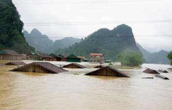 Nguy cơ cao xảy ra lũ quét, sạt lở đất tại các tỉnh từ Thanh Hóa đến Quảng Nam và Bình Định