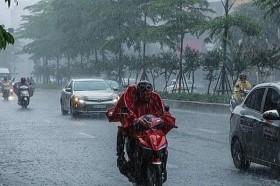 Dự báo thời tiết 25/9: Bắc Bộ và Nam Bộ cảnh báo mưa dông ngập úng cục bộ