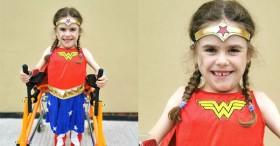 Bé gái 6 tuổi bị bệnh không thể đi bộ quá 5 phút nhưng lại làm nên điều không tưởng ở giải chạy marathon và được coi là nữ thần chiến binh thực thụ