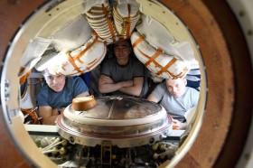 Ba phi hành gia trở về từ không gian trước cột mốc 20 năm trạm vũ trụ
