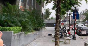 Hà Nội: Bàng hoàng phát hiện người phụ nữ rơi từ chung cư xuống đất tử vong