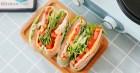 Bữa trưa giảm cân không tinh bột cùng món rau kẹp trứng thịt làm trong nháy mắt mà ăn siêu ngon