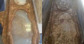Đào đất cải tạo nhà, công nhân hoảng hồn phát hiện cỗ quan tài bằng đồng cũ kĩ nhưng cảnh tượng bên trong mới thực sự đáng kinh ngạc