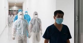 Hình ảnh Bệnh viện Dã chiến Tiên Sơn ở Đà Nẵng trước khi đưa vào sử dụng