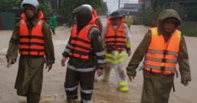 Hà Tĩnh: Bé gái 3 tuổi mất tích trong mưa lũ