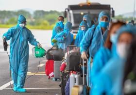 Sân bay Vân Đồn đón hơn 25.500 hành khách từ các nước có dịch