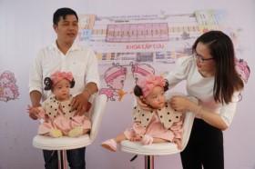 Cặp song sinh Trúc Nhi - Diệu Nhi xuất viện sau 3 tháng được tách rời