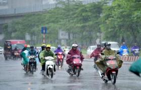 Thời tiết hôm nay 26/10: Hà Nội có mưa rào rải rác, sáng và đêm trời lạnh