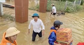 Bộ Y tế khuyến cáo người dân vùng lũ các biện pháp phòng dịch