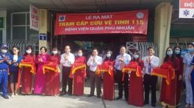 Bệnh viện quận Phú Nhuận trở thành trạm cấp cứu vệ tinh thứ 34