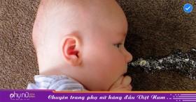 Tìm hiểu tại sao trẻ sơ sinh hay bị nôn trớ?
