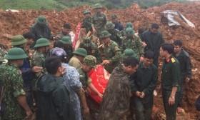 Tìm thấy thi thể thứ 16 trong vụ sạt núi ở Quảng Trị