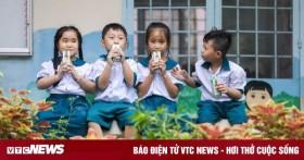 Hậu Giang mở rộng phạm vi thí điểm chương trình sữa học đường
