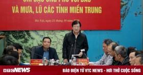 PTT Trịnh Đình Dũng: Có thể huy động trực thăng chuyển hàng cứu trợ miền Trung
