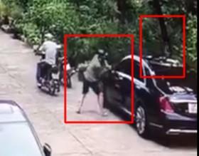 Cư dân mạng quan tâm: Xế sang bị trộm gương trong nháy mắt