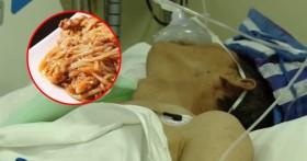 Ăn thức ăn thừa cất 2 ngày trong tủ lạnh, một người bị viêm dạ dày ruột cấp tính