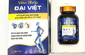 Thực phẩm chức năng Viên Khớp Đại Việt quảng cáo như thuốc chữa bệnh