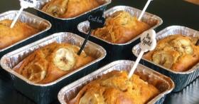 Trộn các nguyên liệu và cho vào nồi chiên không dầu là xong món bánh chuối nướng siêu dễ chị em nào cũng làm được