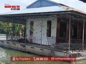Hà Nam: Chuỗi công trình trên sông Châu Giang không có giấy phép xây dựng (Bài 2)